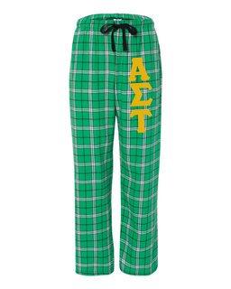 Alpha Sigma Tau Pajamas -  Flannel Plaid Pant