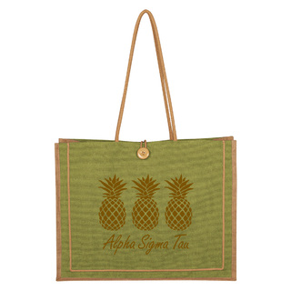 Alpha Sigma Tau Paradise Jute Bag