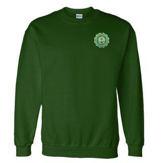 Alpha Sigma Tau Patch Seal Sweatshirt