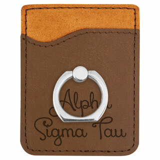 Alpha Sigma Tau Phone Wallet with Ring
