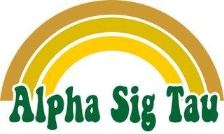 Alpha Sigma Tau Rainbow Decals