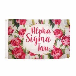 Alpha Sigma Tau Rose Flag