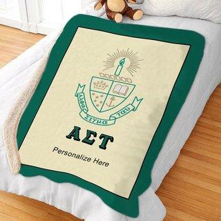Alpha Sigma Tau Sherpa Lap Blanket