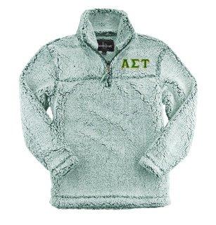 Alpha Sigma Tau Sherpa Quarter Zip Pullover