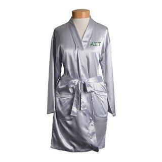 Alpha Sigma Tau Short Satin Robe