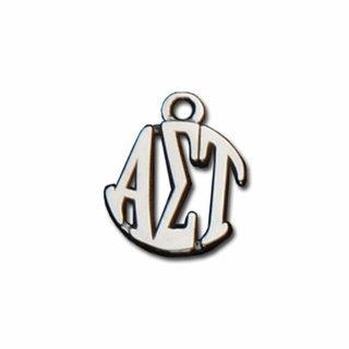 Alpha Sigma Tau Silver Circle Charm