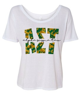 Alpha Sigma Tau Slouchy T-Shirt