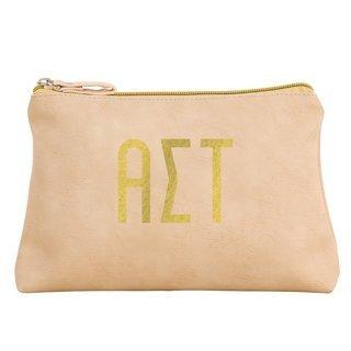 Alpha Sigma Tau Sorority Cosmetic Bag
