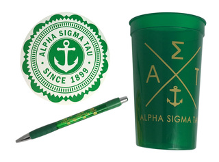 Alpha Sigma Tau Sorority For Starters Collection $8.95