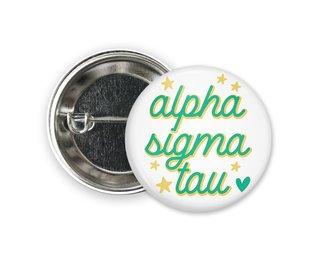 Alpha Sigma Tau Star Button