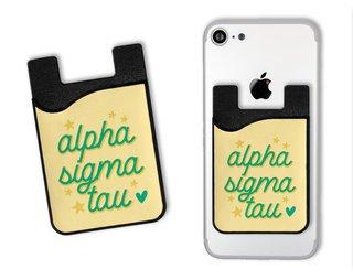 Alpha Sigma Tau Star Card Caddy