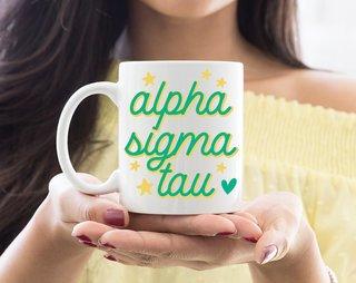 Alpha Sigma Tau Star Mug