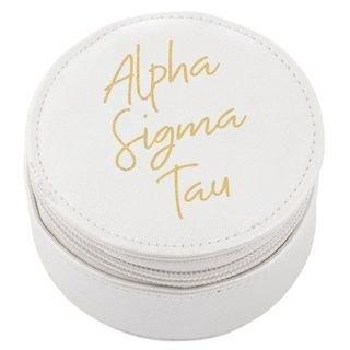 Alpha Sigma Tau Travel Round Case