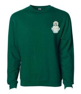 DISCOUNT-Alpha Sigma Tau World Famous Crest - Shield Crewneck Sweatshirt