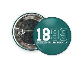 Alpha Sigma Tau Year Button