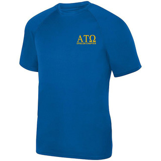 Alpha Tau Omega- $19.95 World Famous Dry Fit Wicking Tee