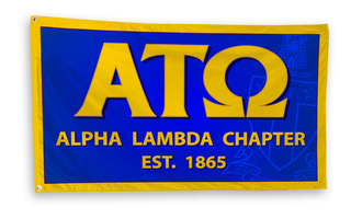 Alpha Tau Omega 3 x 5 Flag
