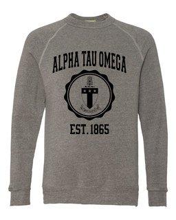 Alpha Tau Omega Alternative - Eco-Fleece� Champ Crewneck Sweatshirt