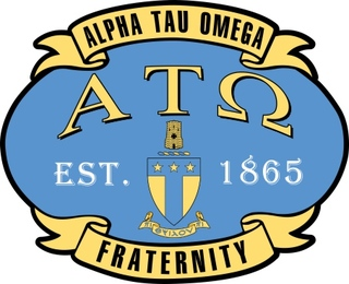 Alpha Tau Omega Banner Crest - Shield Decal