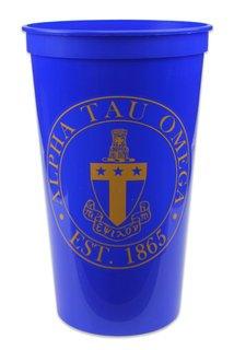 Alpha Tau Omega Big Plastic Stadium Cup