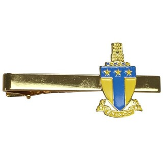 Alpha Tau Omega Color Crest - Shield Tie Clips