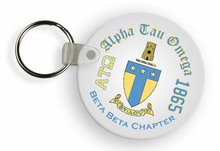 Alpha Tau Omega Color Keychains