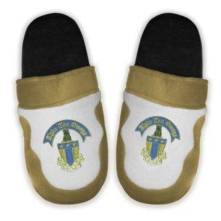 DISCOUNT-Alpha Tau Omega Crest - Shield Slippers