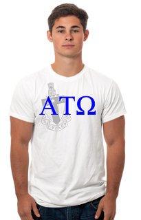 Alpha Tau Omega Crest - Shield Tee