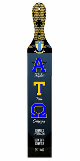 Alpha Tau Omega Custom Full Color Paddle