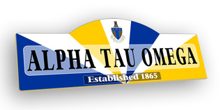Alpha Tau Omega Display Sign