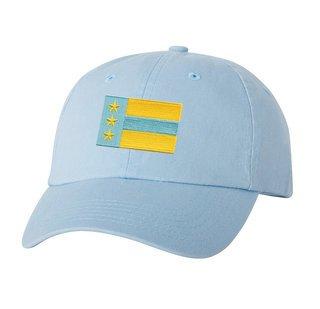 CLOSEOUT - Alpha Tau Omega Flag Patch Baseball Hat