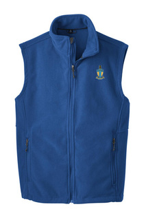 Alpha Tau Omega Fleece Crest - Shield Vest