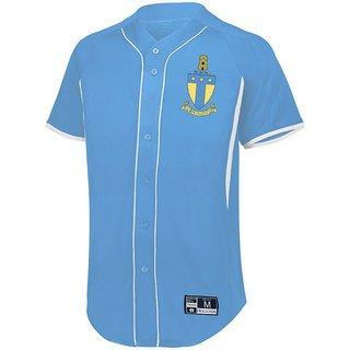 Alpha Tau Omega Game 7 Full-Button Baseball Jersey