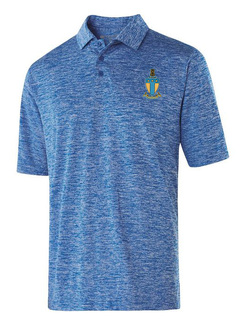Alpha Tau Omega Greek Crest Emblem Electrify Polo