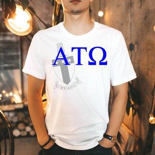 Alpha Tau Omega Greek Crest - Shield T-Shirt