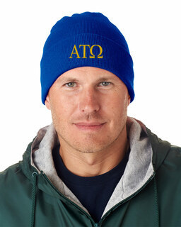 Alpha Tau Omega Greek Letter Knit Cap
