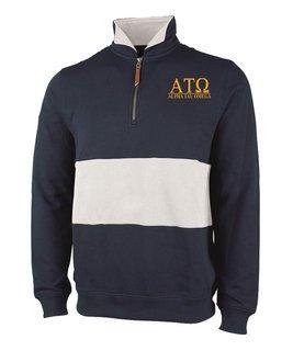 Alpha Tau Omega Greek Letter Quad Pullover