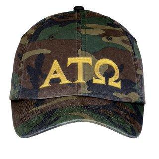Alpha Tau Omega Lettered Camouflage Hat