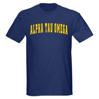 Alpha Tau Omega Letterman T-Shirt
