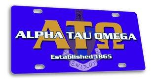Alpha Tau Omega License Cover