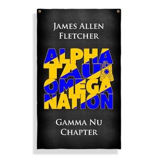 Alpha Tau Omega Nations Giant Flag