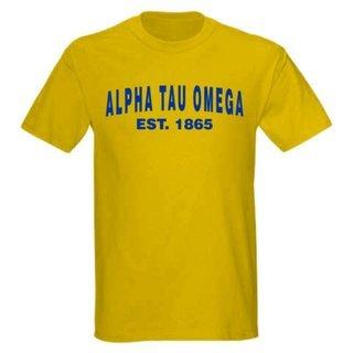 Alpha Tau Omega Since T-Shirt