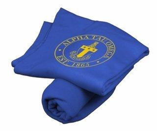 Alpha Tau Omega Sweatshirt Blanket