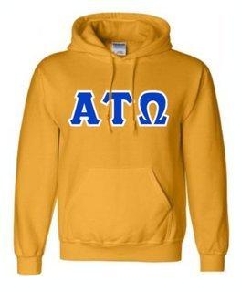 Alpha Tau Omega Sewn Lettered Sweatshirts