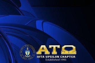 Alpha Tau Omega Tablecloth