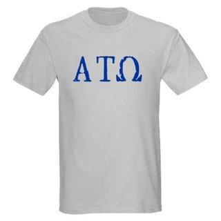 Alpha Tau Omega Type Greek T-Shirt