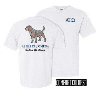 Alpha Tau Omega United We Stand Comfort Colors T-Shirt