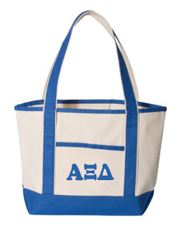 Alpha Xi Delta Sailing Tote Bag