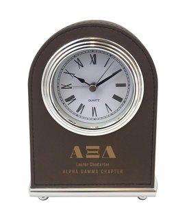 Alpha Xi Delta Arch Desk Clock