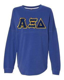 DISCOUNT-Alpha Xi Delta Athena French Terry Dolman Sleeve Sweatshirt